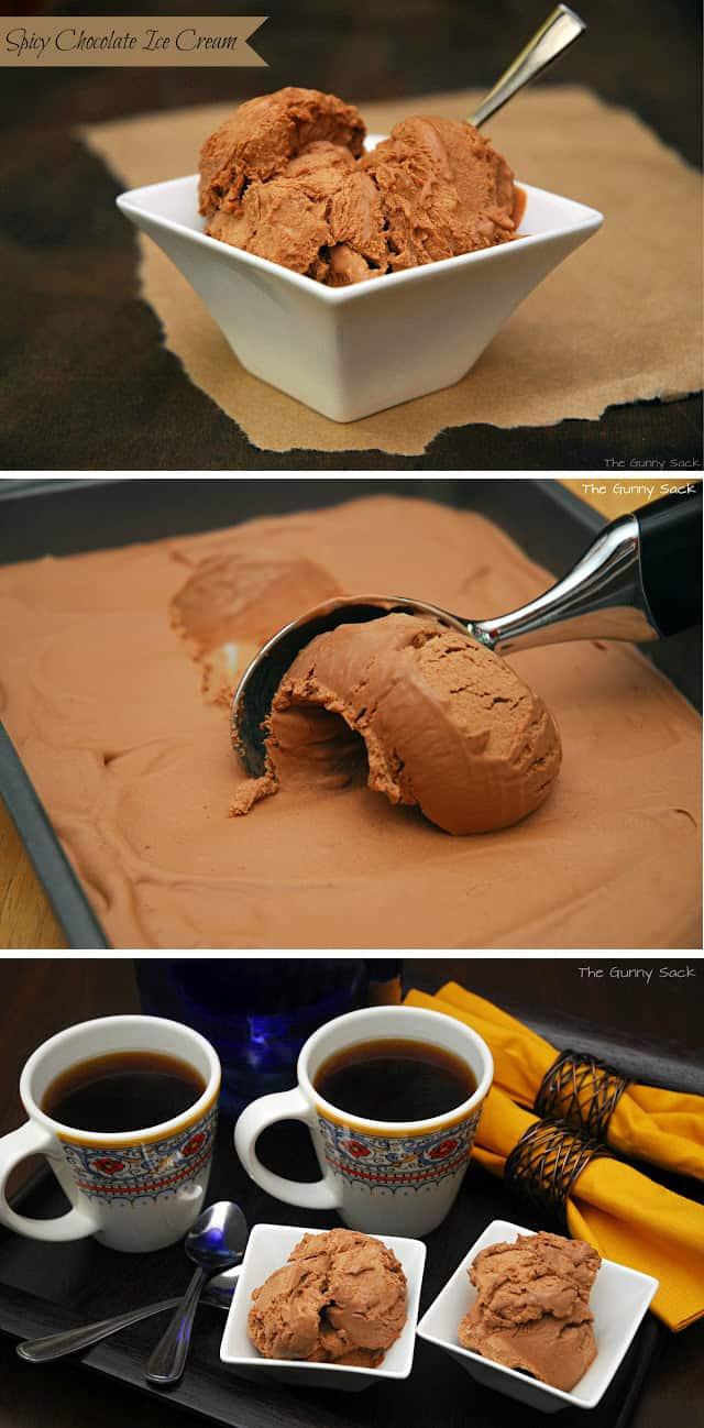 spicy chocolate ice cream aka spice cream