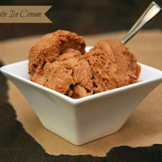 Spicy Chocolate Ice Cream