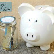 Piggy Bank of Love ~ A Piggy Bank To Treasure