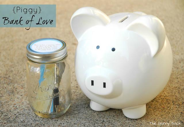 Love ~ A Piggy Bank To Treasure