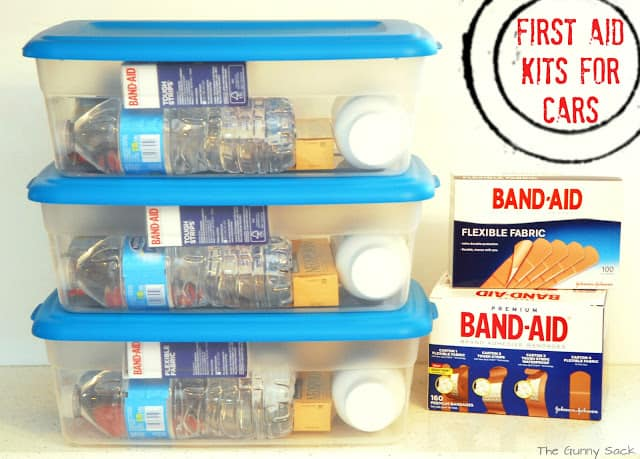 first aid kits for cars