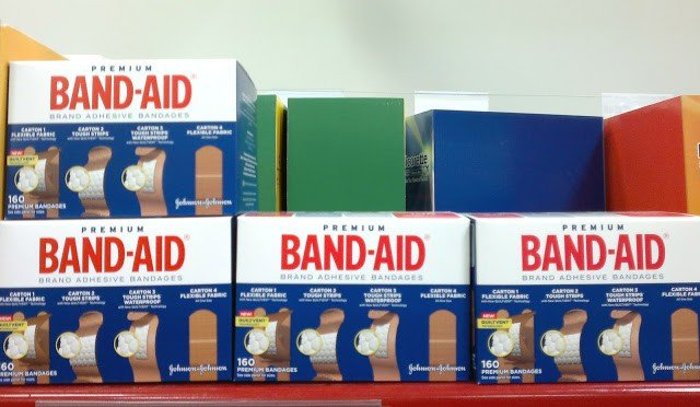 band-aids in store