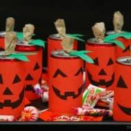 Trick-or-Treat Jack 'O Lantern Pump-CANs