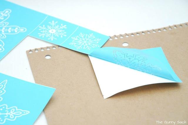 silkscreen snowflakes