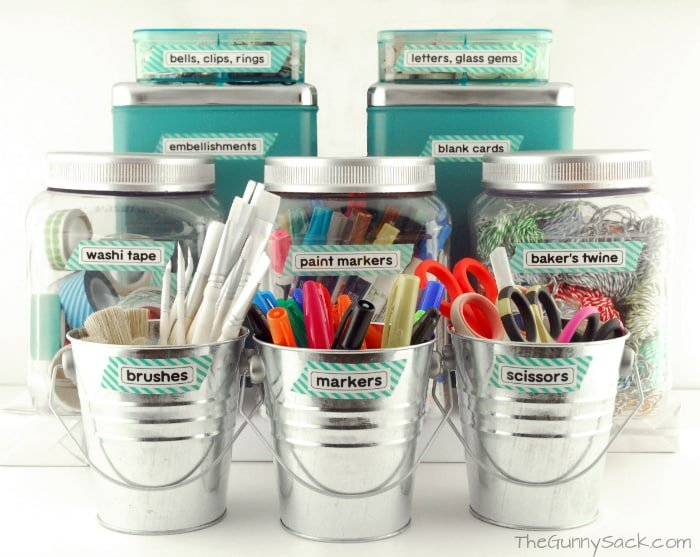 Craft Supply Organization