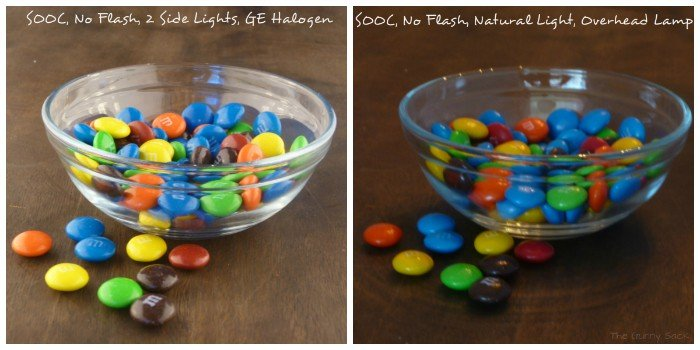 bowls of M&Ms