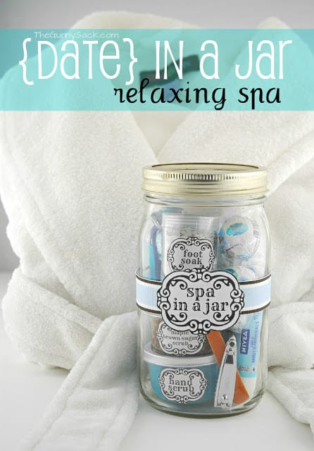 date in a jar relaxing spa