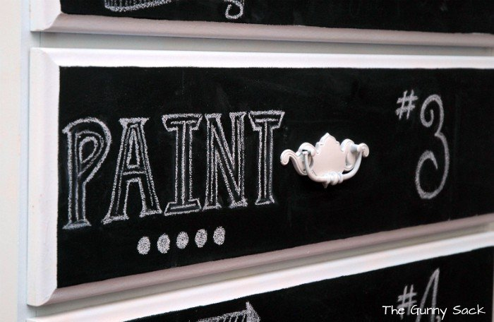 Chalkboard Art Drawer 3