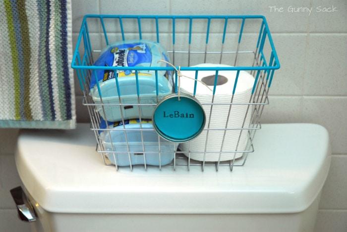 Cottenelle Bathroom Storage