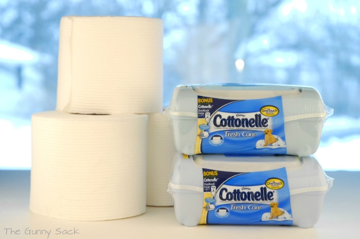 Cottonelle Cleaning Logic