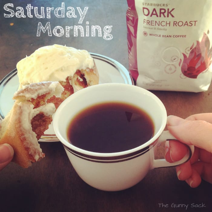 Starbucks French Roast Coffee & A Mini Staycation