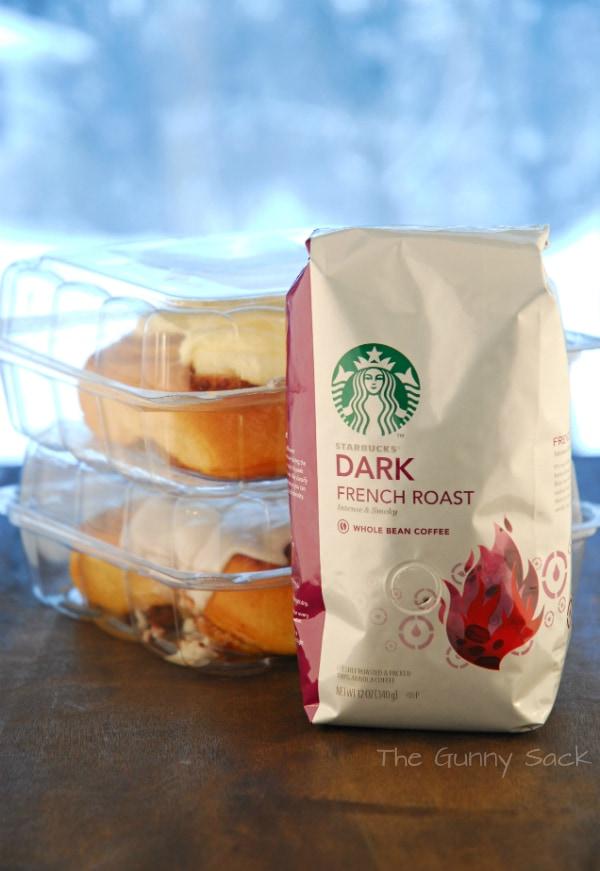 Starbucks French Roast Cinnamon Rolls