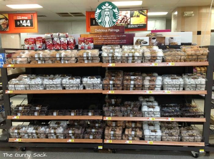 Starbucks Delicious Pairings Display