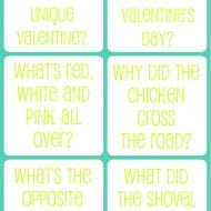 Valentine's Day Printable Jokes For Kids