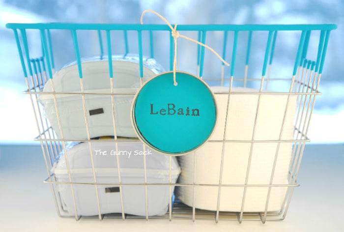 Le Bain Vintage Wire Shopping Basket