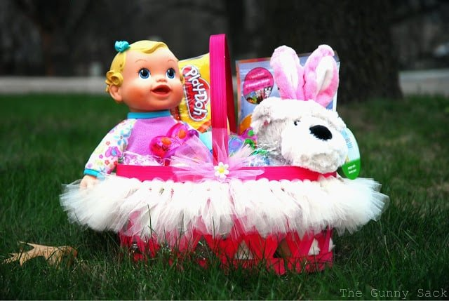 Tutu Easter Basket Tutorial