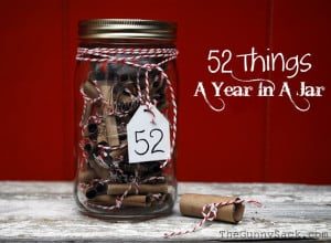 52 Things In A Jar