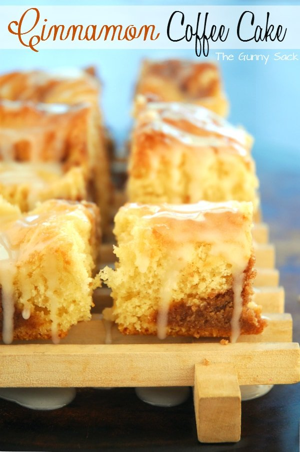 Cake Mix Cinnamon Streusel Coffee Cake