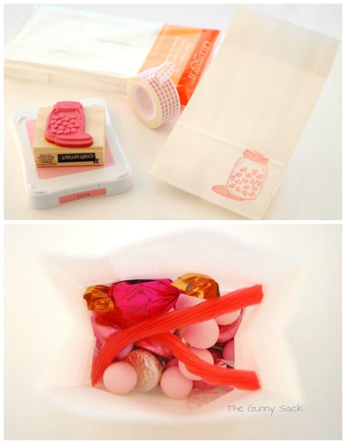 Candy Bag From Candy Buffet