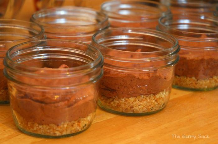 Chocolate Filling In Jar