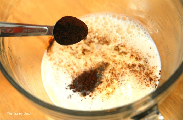 Coffee Milk Latte