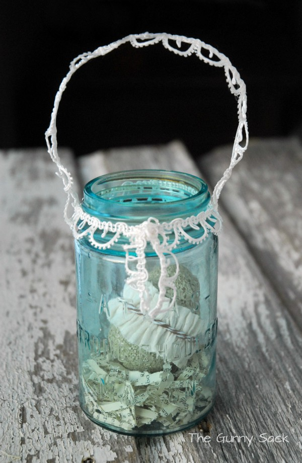 Easter Basket Idea Mason Jar Gift