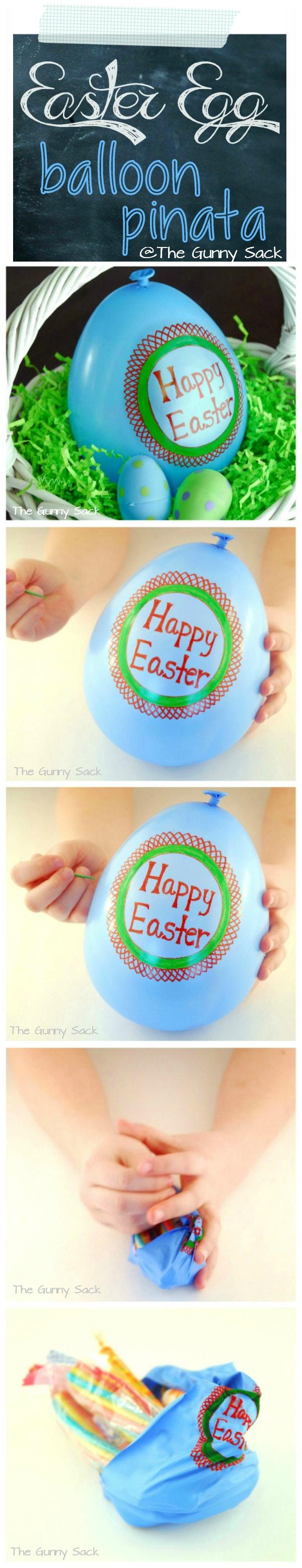 Easter Egg Balloon Pinata
