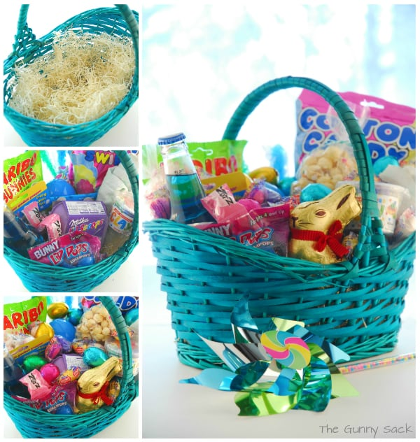 how to make easter baskets for kids