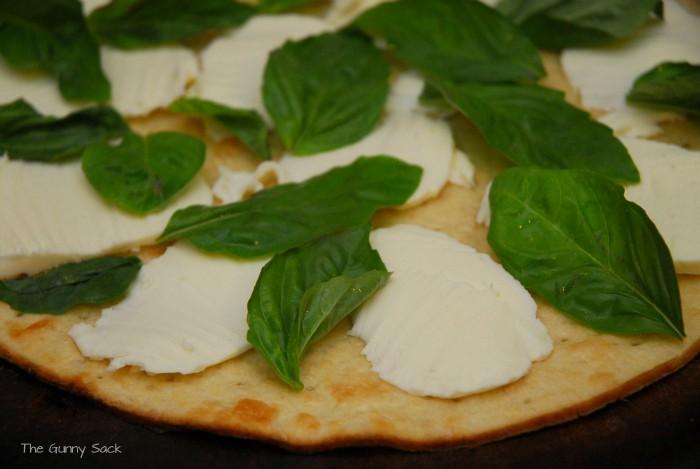 Fresh Mozzarella Basil
