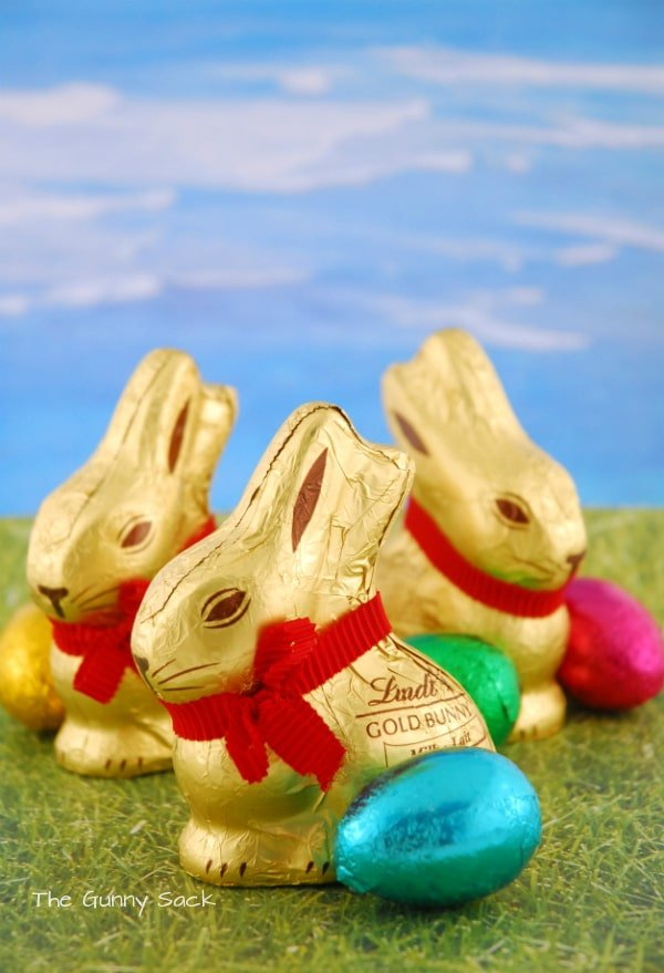 Lindt Chocolate Gold Easter