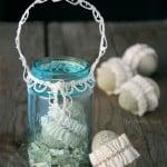 Mason Jar Easter Basket Decor