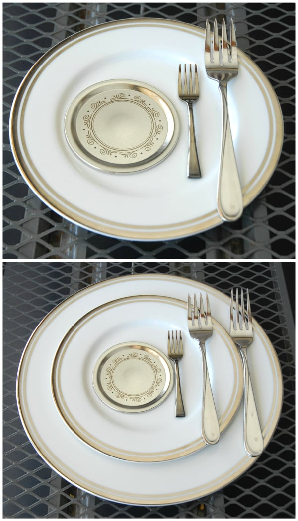 Plate Fork Sizes