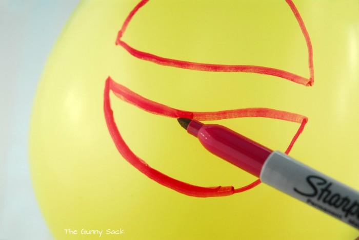 Sharpie On Balloon
