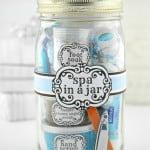 Spa In A Jar Handmade Gift