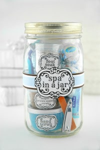 Spa In A Jar Handmade Gift