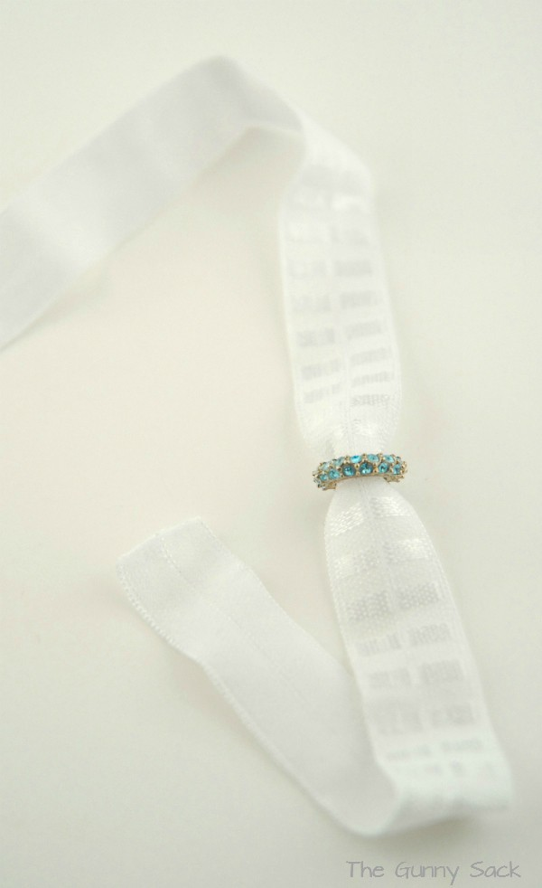 White Headband Elastic