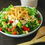 Chicken Fajita Southwest Salad Recipe