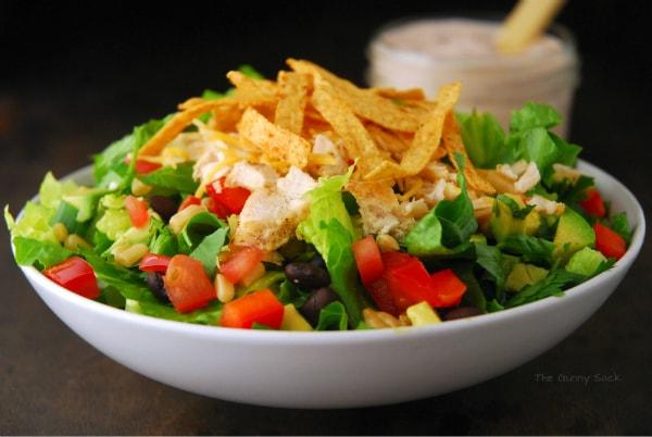 Chicken Taco Salad Recipe