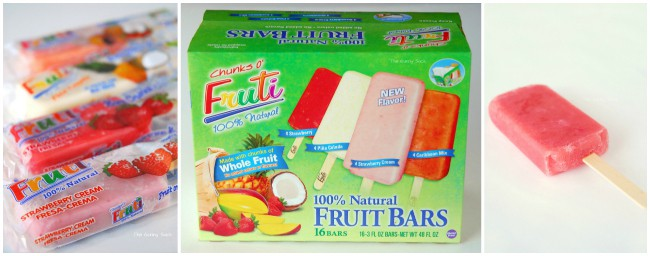 Chunks 'O Fruti Bars