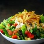southwest salad in bowl
