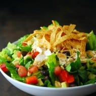 Chicken Fajita Southwest Salad