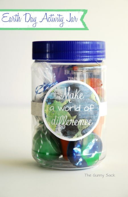 Earth Day Activites Gifts In A Jar