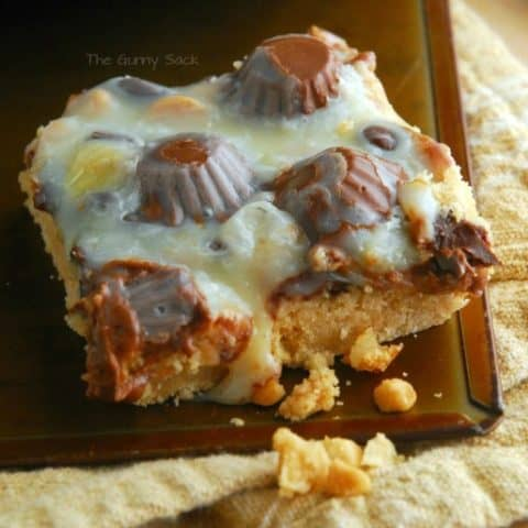 Reeses Peanut Butter Cup Cookie Bars