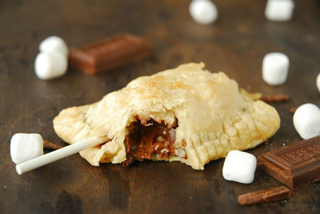 S'mores Recipe Chocolate Pie Pops