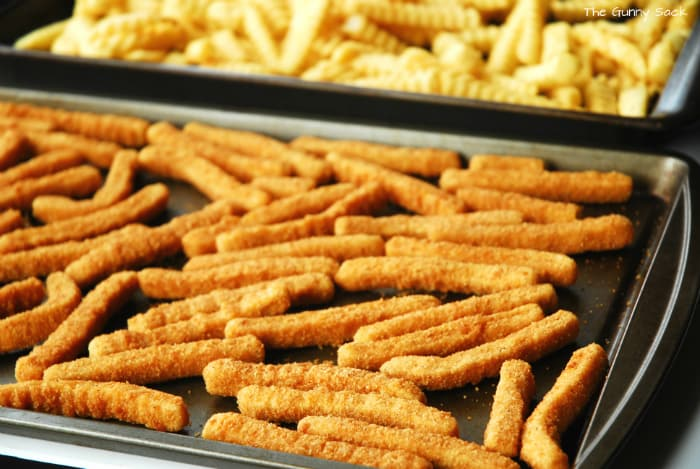 Tyson Chicken Fries and French Fries