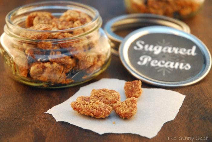 Brown Sugar Pecans