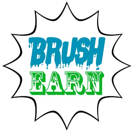 Brush Earn Jar Printable