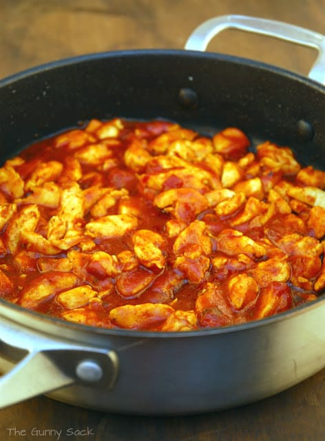 Campbells Fire Roasted Tomato Skillet Sauce Chicken
