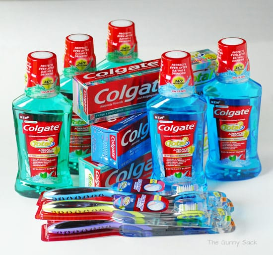 Colgate Total Care Routine