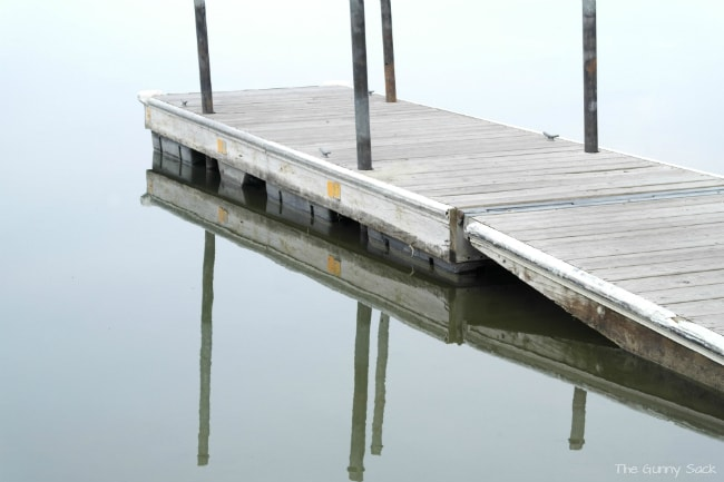 Dock In Lake